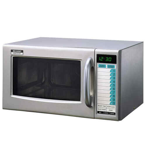 Microwave Sharp S/S - 1000watt