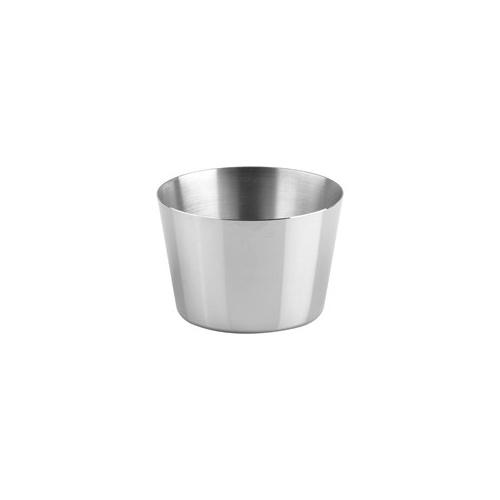 85 x 55mm Pudding Mould - Stainless Steel