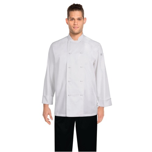 Murray Chefs Jacket L/S White Large - MUCC-WHT-L Chef Works