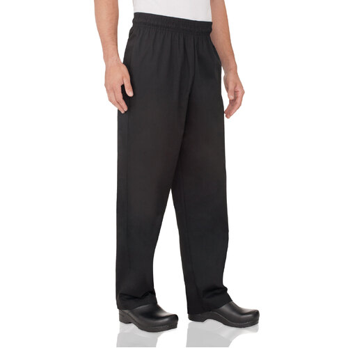 Basic Baggy Black Pants Extra Large - NBBP-BLK-XL Chef Works